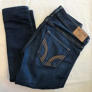 Dark Wash Skinny Hollister Jeans